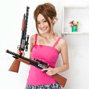 丈夫で安全!!コルク銃で、唯一日本玩具協会が定める「玩具安全基準」認証商品!!射的/縁日/お祭...