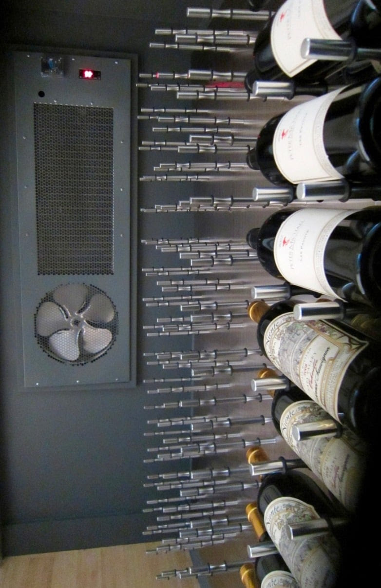 Cooling Unit Wine Cellar Cooling Unit Installation