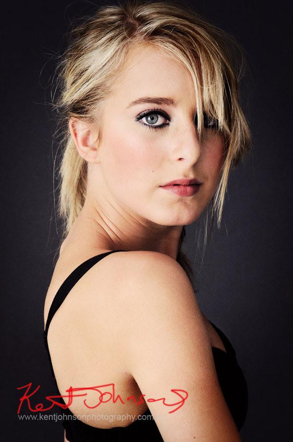 Rachael, Modelling Portfolio, Edgy Studio Headshot