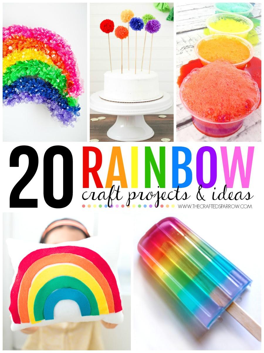 20 Rainbow Craft Projects \u0026 Ideas