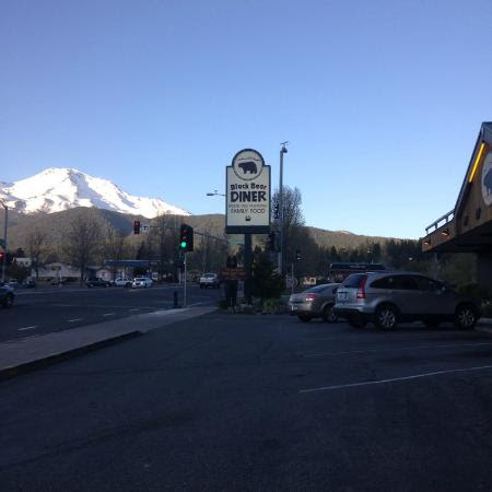 First Black Bear Diner, Mt. Shasta - Picture from Internet