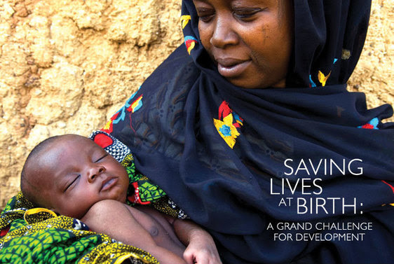 Photo of a woman and her child. Saving Lives at Birth: A Grand Challenge for Development