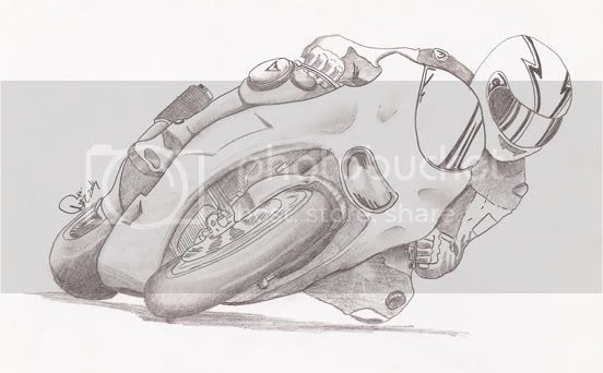 Dibujos Hechos A Lapiz Motos Imagui