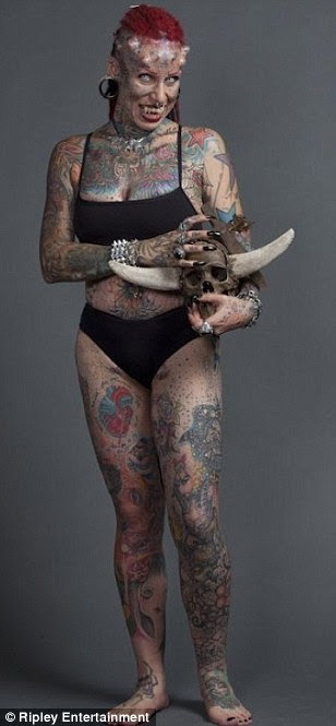 Maria Hose Cristerna was raised in a deeply religious family but turned to body art after years of domestic abuse by her ex-husband
