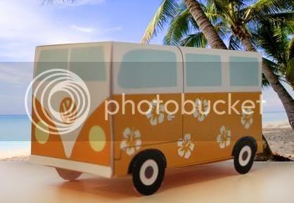 Papermau Volkswagen Van Gift Box Papercraft By Floor