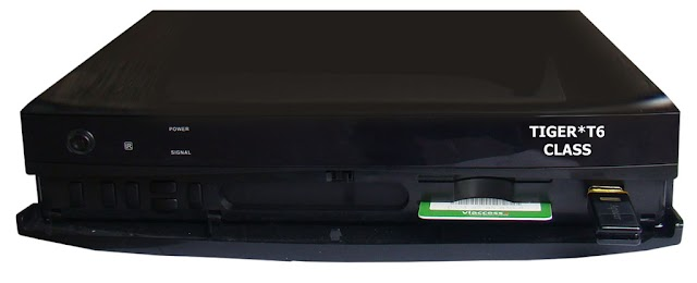 TIGER T1 HD  - T6 HD - T6class NOVA ATUALIZAÇÃO  V2.52 - 15/04/2017