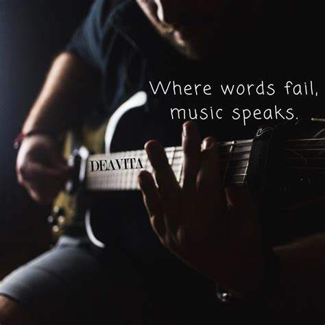 The best short music quotes with cool photos to inspire you