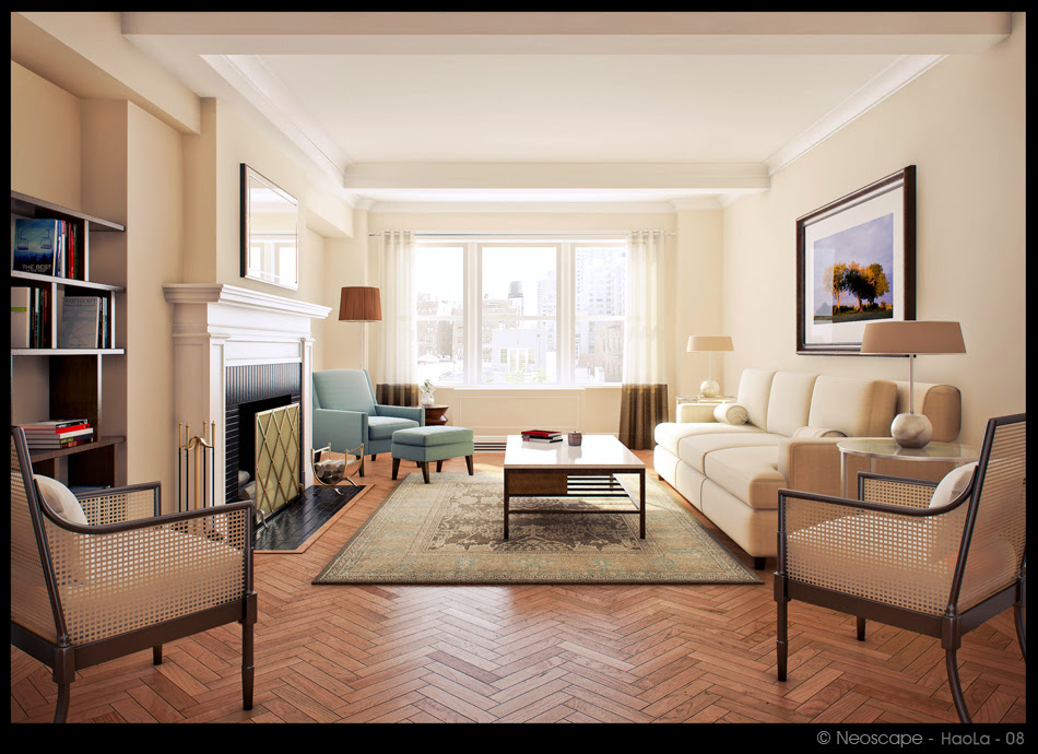 Retro Style In Interior Design Ideas With Rustic Furniture ...