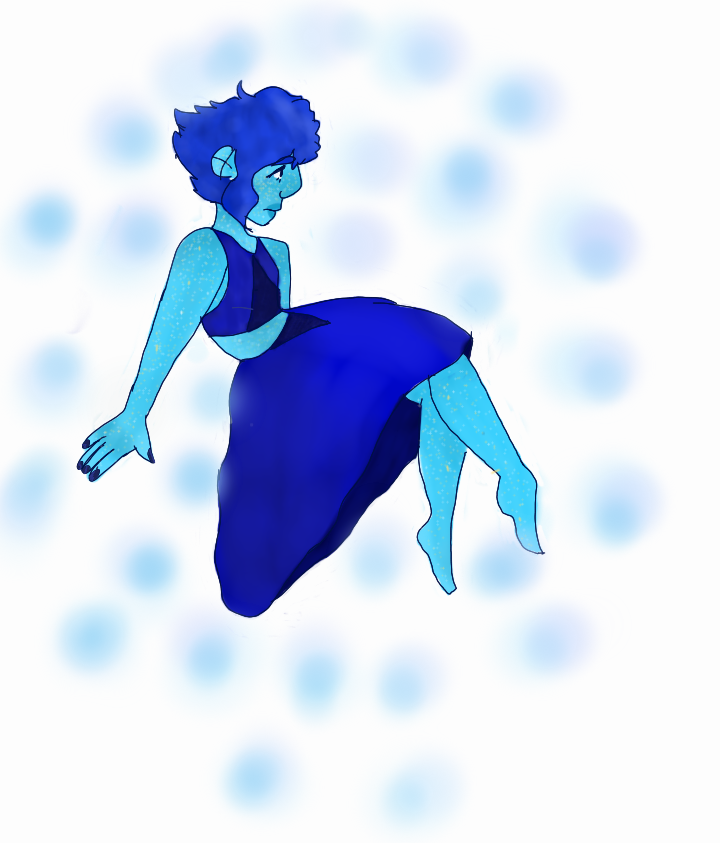 I don't know why whenever I try something new like poses I always draw lapis?