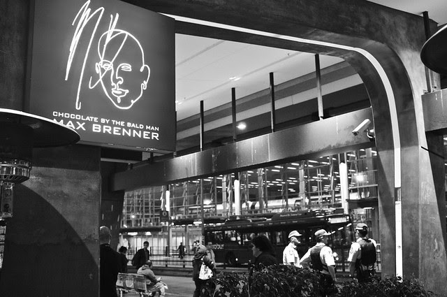 Anti-Israel Rally at Max Brenner 2