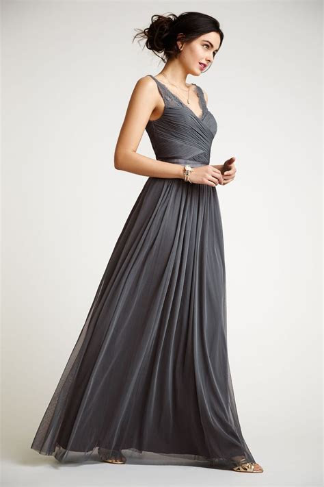 25  best ideas about Pewter Bridesmaid Dresses on