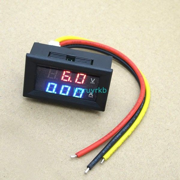 Digital Volt Amp Meter Wiring Diagram