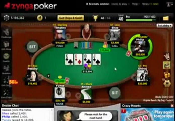 Cara Bermain Zynga Poker Di Facebook - Berbagai Permainan