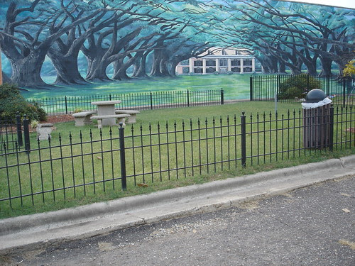 Bossier City mural by trudeau