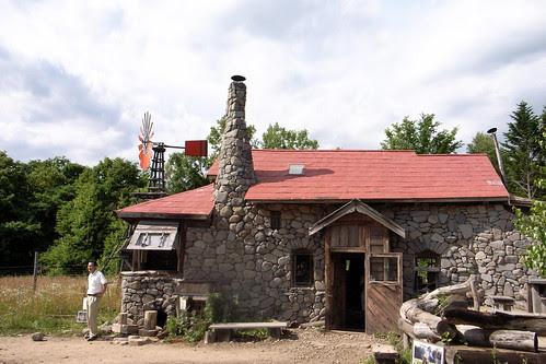 黒板五郎の石の家