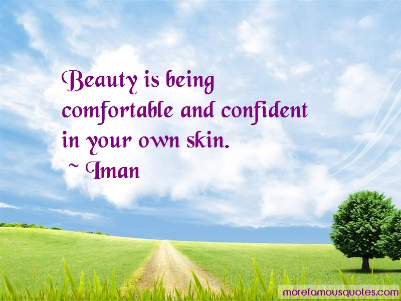 Confident In Your Own Skin Quotes Top 5 Quotes About Confident In