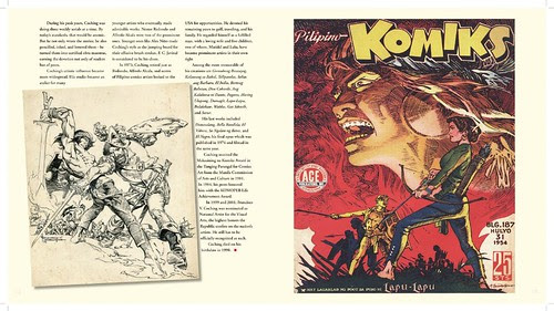 """""""THE FIRST ONE HUNDRED Years of Philippine Komiks and Cartoons"""" coffee table book"""