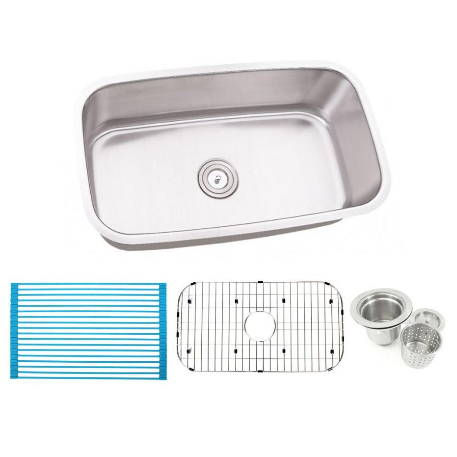 28 Inch White Undermount Kitchen Sink Small House Interior Design