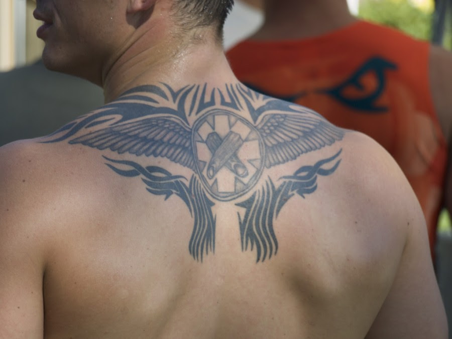 Wing Tattoos For Men Pictures On Upper Back Tattoomagz