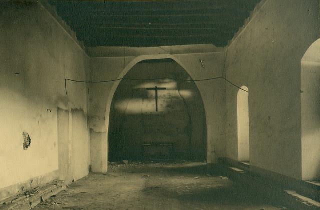 Hospital de Santa Cruz destruido en la Guerra Civil. Fotografía de Pelayo Mas Castañeda. Causa de los mártires de la persecución religiosa en Toledo