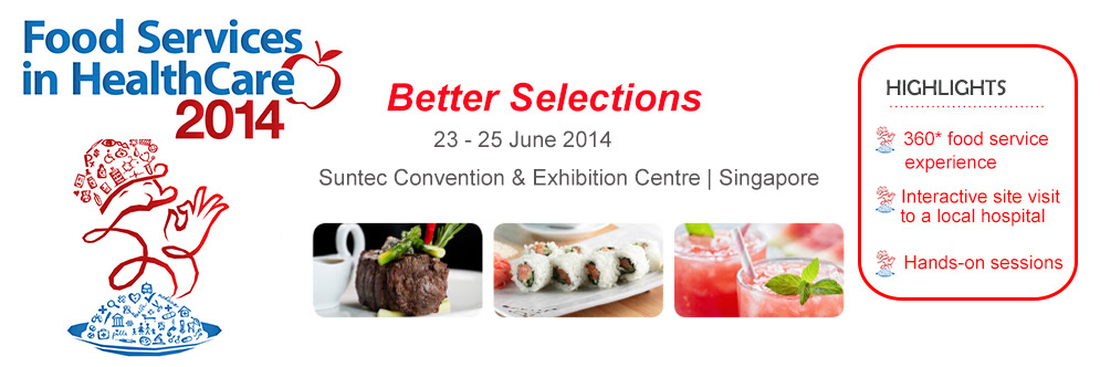 Banner_Food Services in HealthCare 2014
