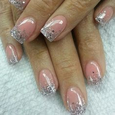 Nails Design Pink And Silver