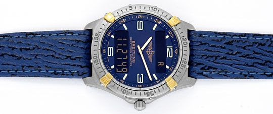 Foto 1, Breitling Repetition Minutes Aerospace Titan Gold, 1997, U2045