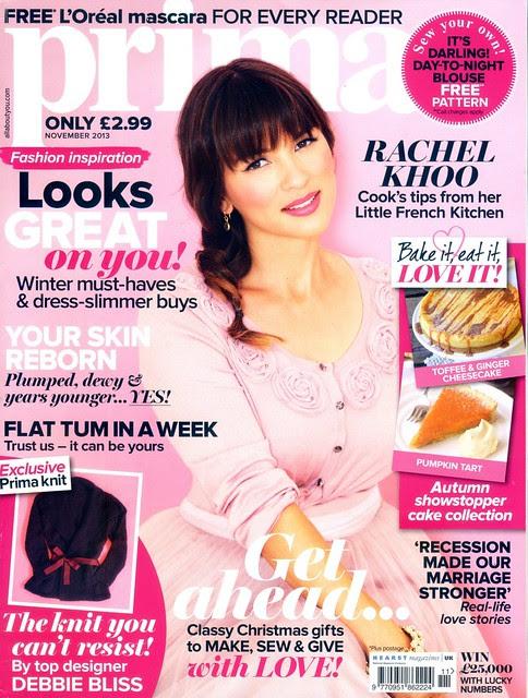 PRIMA Magazine - November 2013 - Cover