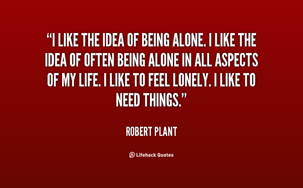 Quotes About Being Content Alone 23 Quotes
