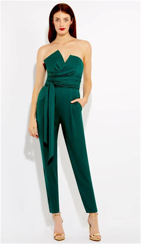 Green Jumpsuit   DressedUpGirl.com