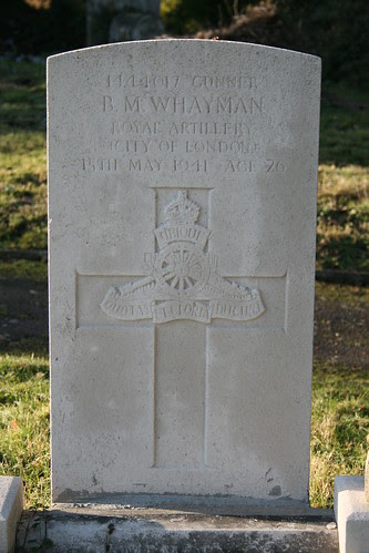 War Grave - St Mildred's Church Nurstead, Kent