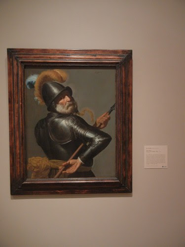 DSCN7588 _ Man in Armour Holding a Pike,c. 1630, Jan van Bijlert (1597_98-1671), Norton Simon Museum, July 2013