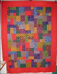 The Wright Stuff quilt - WIP
