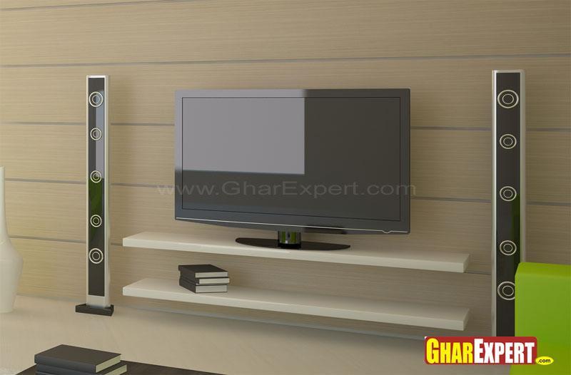 Lcd Wall Unit Design Gharexpert