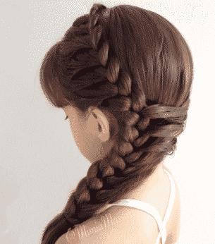 3 Peinados para niñas fáciles de hacer