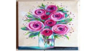 Tuval Boyama çiçekler Tickets