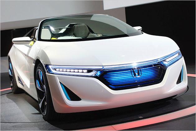 Honda EV-STER: Elektrozweisitzer ohne Lenkrad   heise Autos