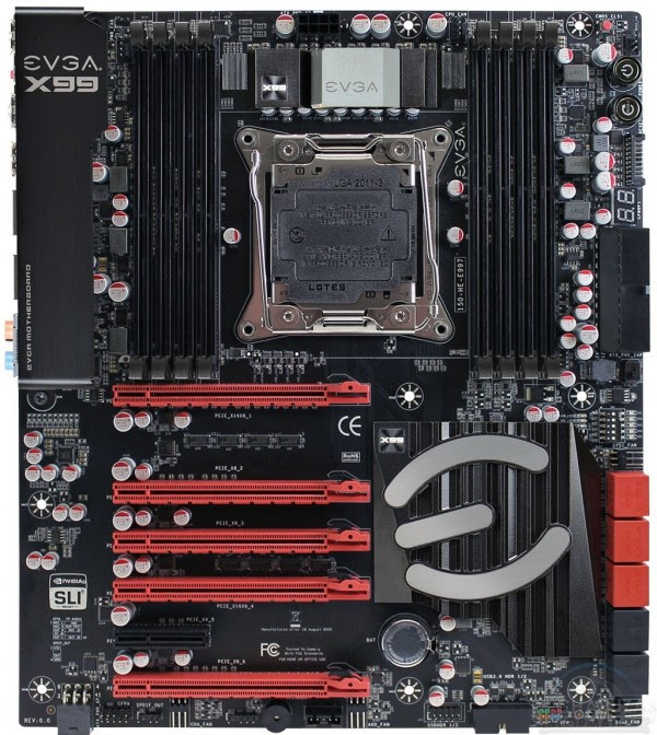 EVGA X99 FTW 600x672 EVGA X99 Classified, X99 FTW y X99 Micro