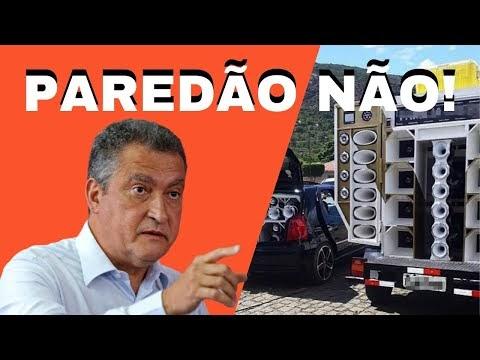 Rui Costa anuncia proibição de festas do tipo paredão no Estado da Bahia