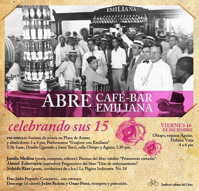 Aniversario Cafe Emiliana