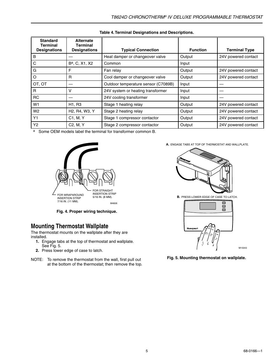 Wiring Diagram  26 Honeywell Chronotherm Iv Plus Wiring