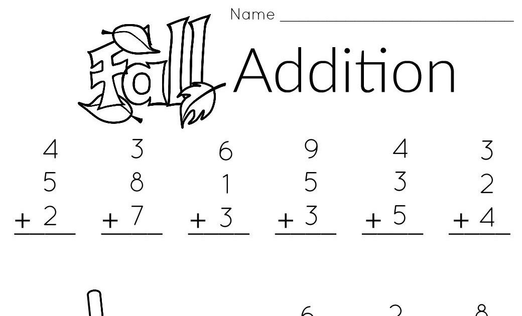 Printable Worksheets For Kids 1st Grade