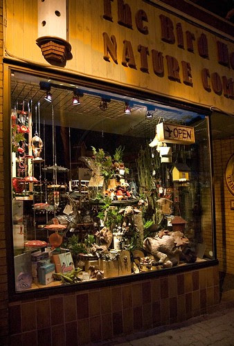 A shop for nature lovers, the Birdhouse Shop in downtown Orillia.