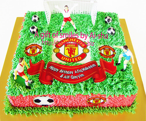 Birthday Cake Manchester United
