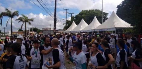 13ª Corrida das Pontes do Recife ocorreu na manhã deste domingo / Foto: Divulgação