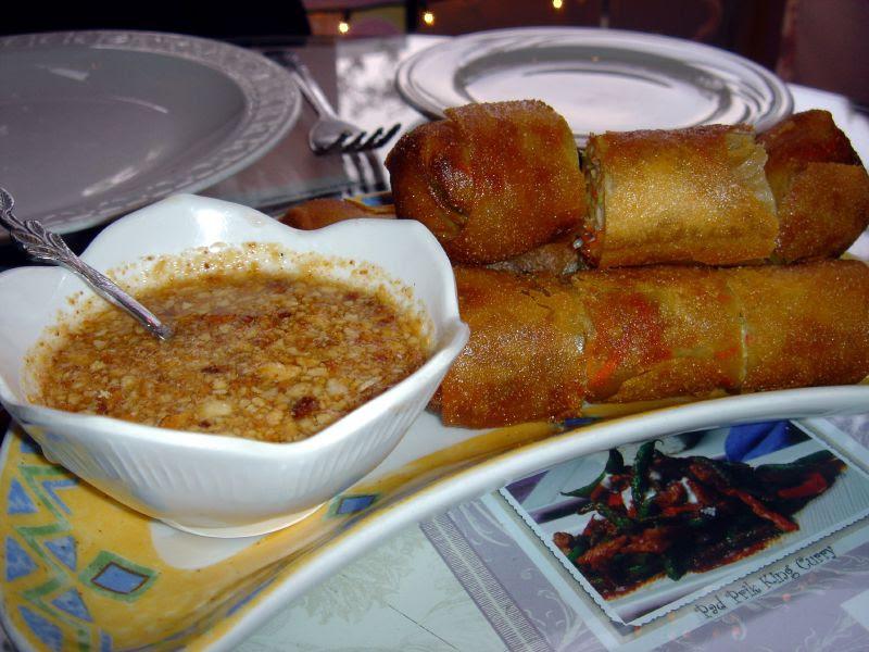 Crispy Thai Express Veggie Rolls