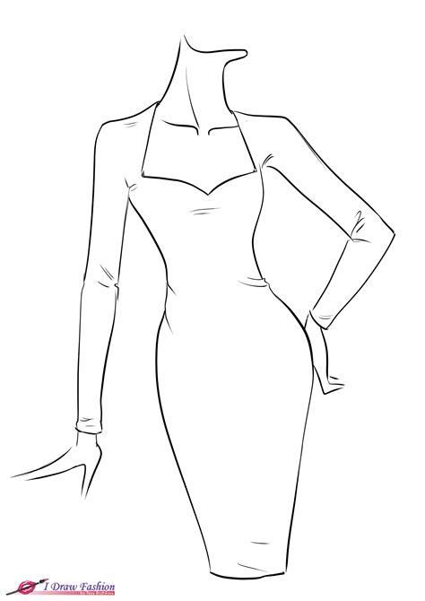 draw fringe dress  draw fashion