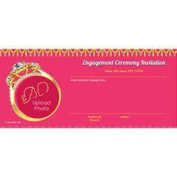 Engagement Invitations   Ring Ceremony Invites Latest