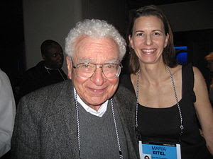 Murray Gell-Mann and Maria Eitel