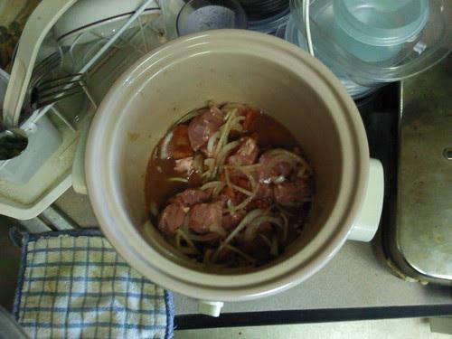 Cyprus Beef Stew, before